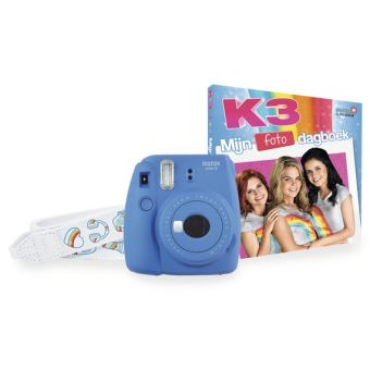 FUJI INSTAX MINI 9 INSTANT CAMERA PACK K3 BLUE