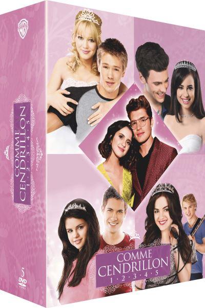 Coffret Comme Cendrillon 1 à 5 DVD
