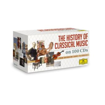 The history of classical music Coffret100 CD
