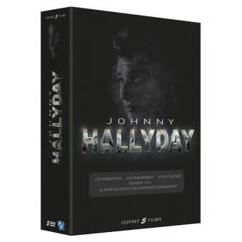 Johnny Hallyday Coffret 5 films DVD