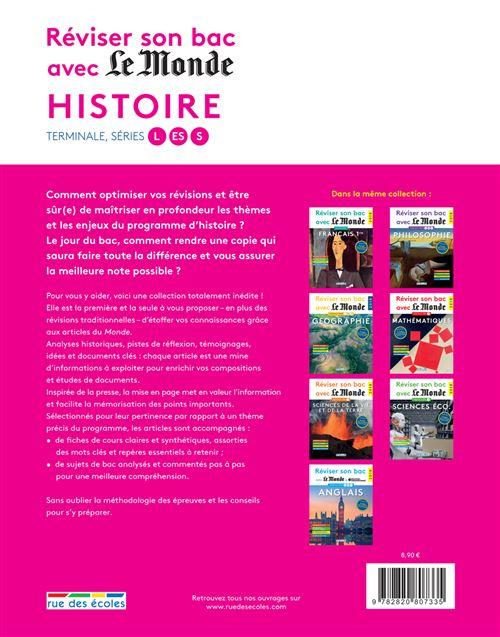 Reviser Son Bac Avec Le Monde Histoire 2018 Edition 2018 Broche Collectif Achat Livre Fnac