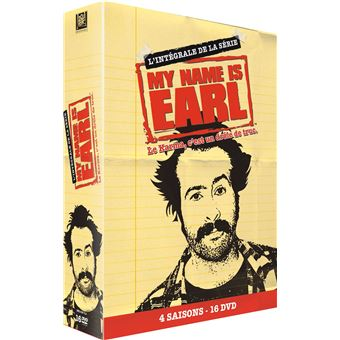 My Name is EarlMy Name is Earl Saisons 1 à 4 Coffret DVD