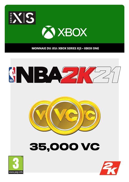 NBA 2K21 35,000 points VC Xbox