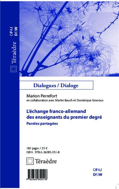 L'échange franco-allemand des enseignants du premier degré