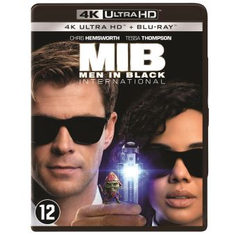 MEN IN BLACK : INTERNATIONAL-BIL-BLURAY 4K