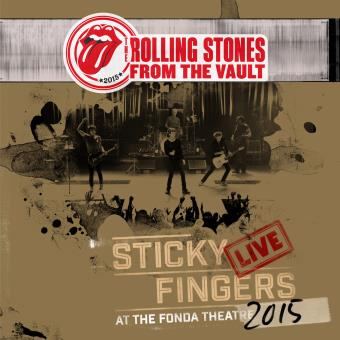 From The Vault : Sticky Fingers Live At Fonda Theatre 2015 Triple Vinyle Gatefold Coffret Edition limitée Inclus DVD