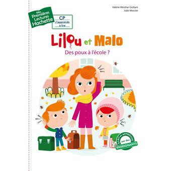 Lilou et Malo1ères lectures CP1 La maîtresse a des poux