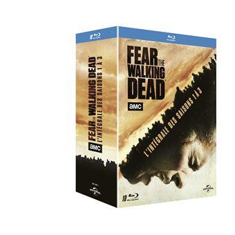 Fear the walking deadFear the Walking Dead Saison 1 à 3 Coffret Blu-ray