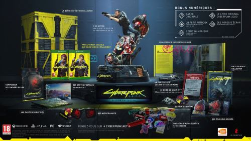 Cyberpunk 2077 Edition Collector Xbox One