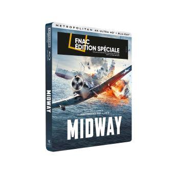 Midway Edition Spéciale Fnac Steelbook Blu-ray 4K Ultra HD