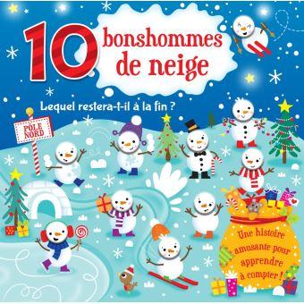 Dix bonhommes de neige