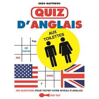 Quiz d'anglais aux toilettes