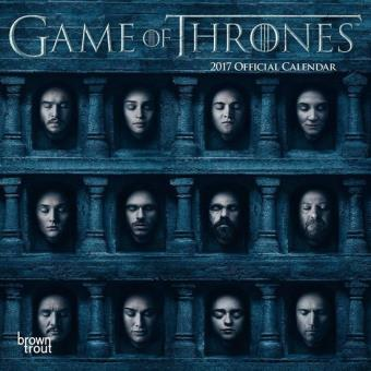 Game of thrones/calendrier mural 2017