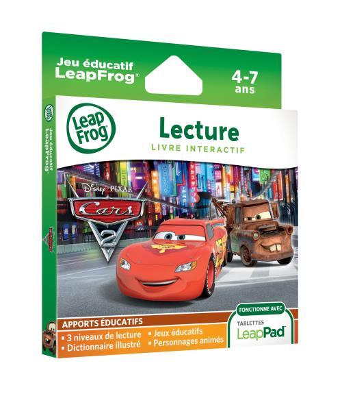 Livre Anime Interactif Leapfrog Cars 2 Pour Leappad Explorer
