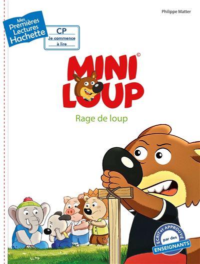 Premières lectures CP2 Mini-Loup - Rage de loup