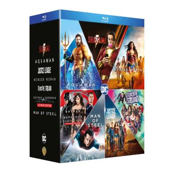 DC animatedCoffret DC Comics L'intégrale Blu-ray
