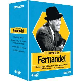 Coffret L'Essentiel de Fernandel 4 films DVD