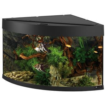 Aquarium d 39 angle ferplast 180 litres dubai corner 90 for Aquarium angle