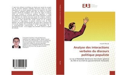 Analyse des interactions verbales du discours politique populiste