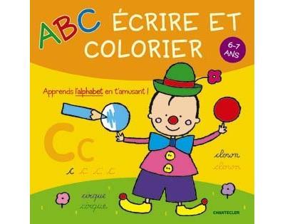 ABC écrire et colorier 6-7 ans