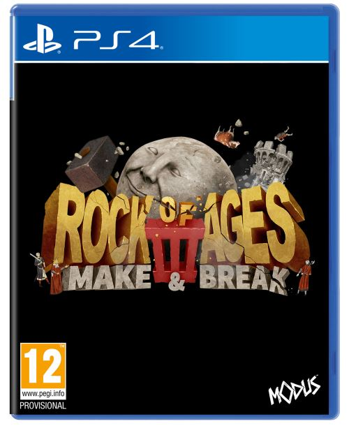 Rock of Ages 3 Make and Break PS4