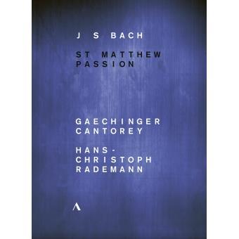 Bach : Passion selon Saint Matthieu BWV 244 DVD