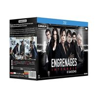 Coffret Engrenages Saison 1 à 8 Blu-ray