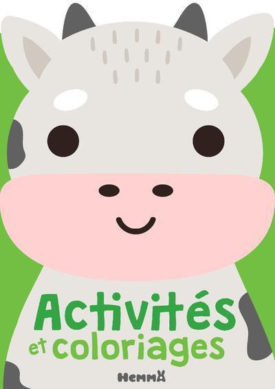 Activités et coloriages : vache