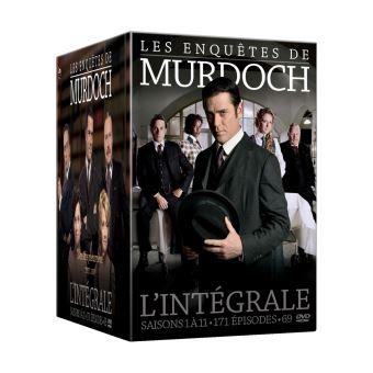 Les Enquêtes de MurdochCoffret Les Enquêtes de Murdoch L'intégrale DVD