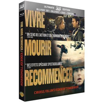 Edge of Tomorrow – Blu-Ray 3D + Blu-Ray + DVD + Digital