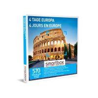 Coffret cadeau Smartbox 4 Jours en Europe