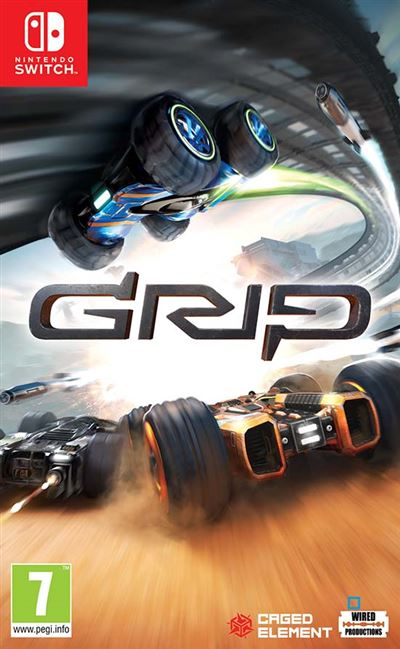 GRIP : Combat Racing Nintendo Switch