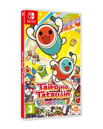 Taiko no Tatsujin Drum'n'Fun ! Nintendo Switch