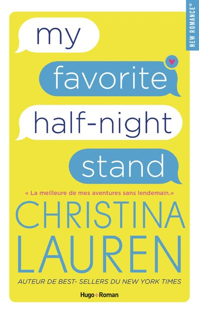 My favorite half-night stand - broché - Christina Lauren