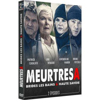 Meurtres àMeurtres à Brides-les-Bains et en Haute-Savoie DVD