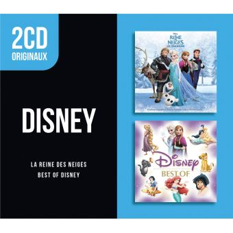 2 CD Originaux Best Of Disney La reine des neiges