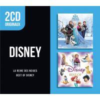 2 CD Originaux Best Of Disney La reine des neiges