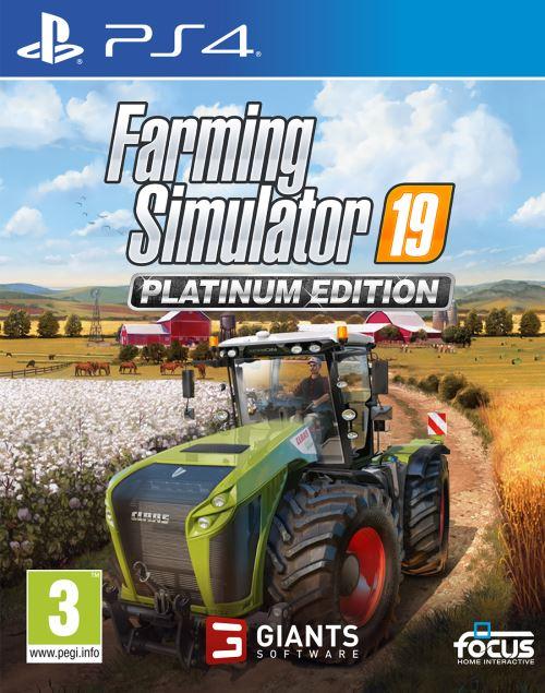 Farming Simulator 19 Édition Platinum PS4