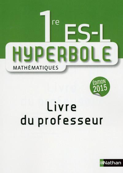 Hyperbole 1e ES-L Professeur 2015