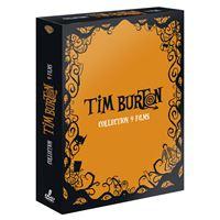 Tim Burton - Coffret 9 films, DVD Pack