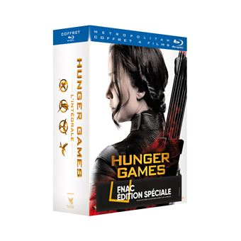 Hunger GamesHunger Games l'intégrale Coffret Edition Collector Fnac Blu-ray