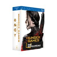 Hunger Games l'intégrale Coffret Edition Collector Fnac Blu-ray