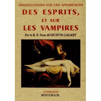 augustin calmet dissertation sur les vampires