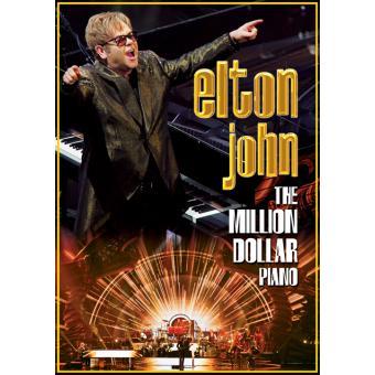 The million dollar piano DVD