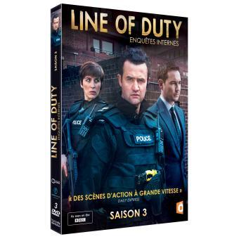 Serie Line Of DutyLine of duty Saison 3 DVD