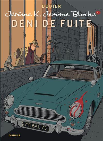 Jérôme K. Jérôme Bloche - Déni de fuite (nouvelle maquette)