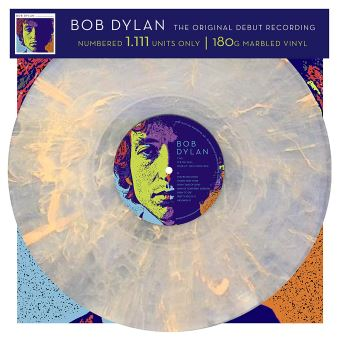 The Original Debut Recording Bob Dylan - Vinilo Color