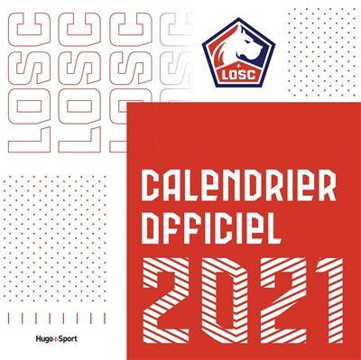 Losc Calendrier 2021 Calendrier mural LOSC 2021   broché   Collectif   Achat Livre | fnac