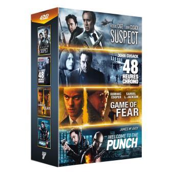 Coffret Stars de l'action 4 films DVD