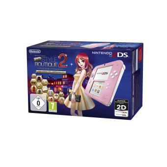 Console nintendo 2ds rose et blanc la nouvelle maison du for Leclerc la maison du style 2